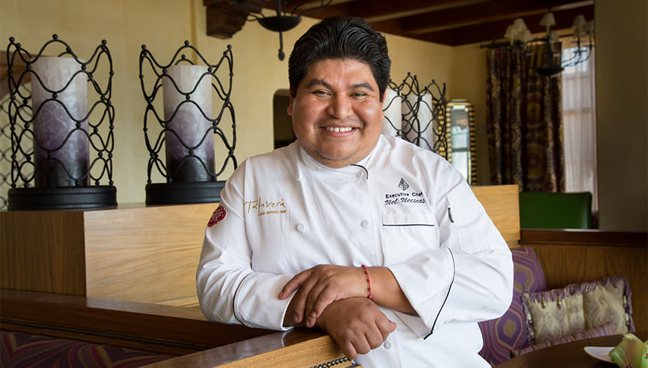 Chef Mel Talavera
