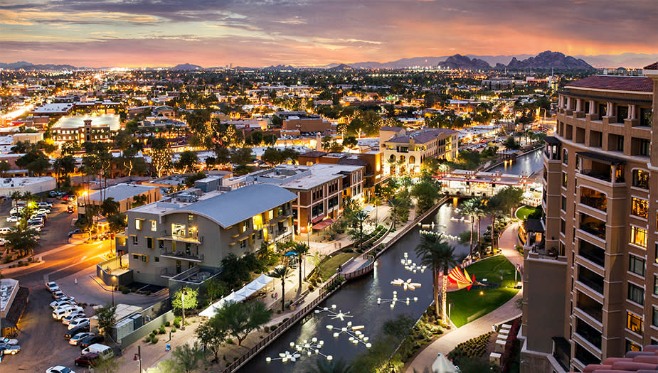 Scottsdale Downtown Old Town Waterfront