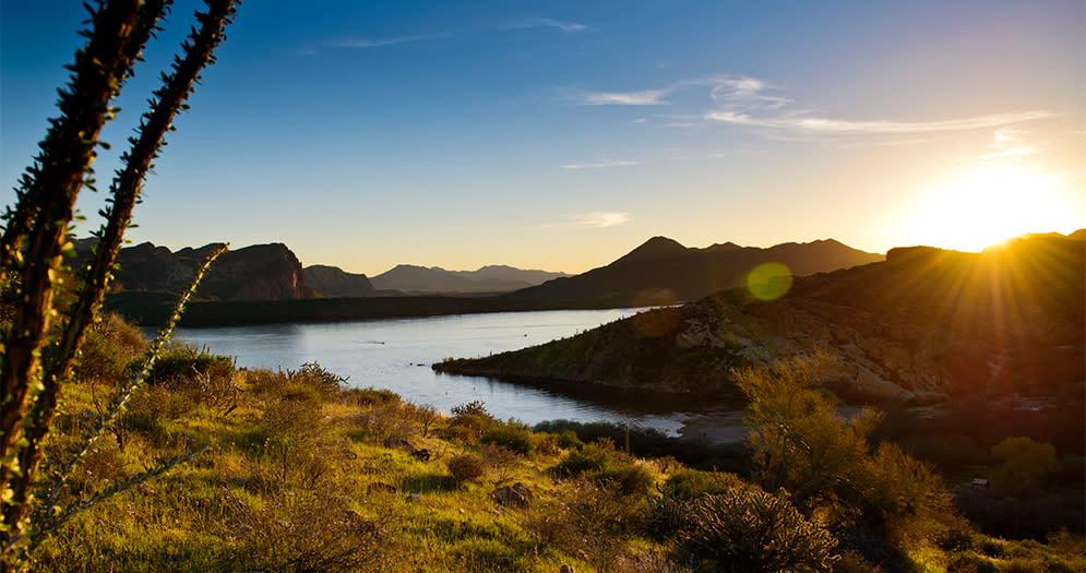 Saguaro Lake Scottsdales Scenic Waterways