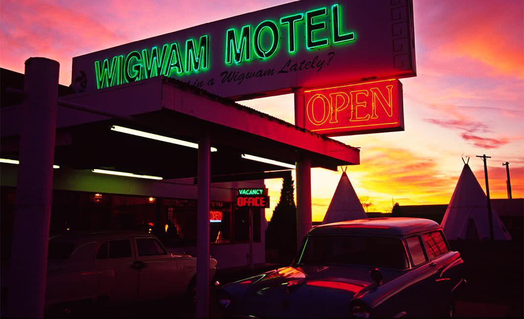 Route 66 Wigwam Hotel
