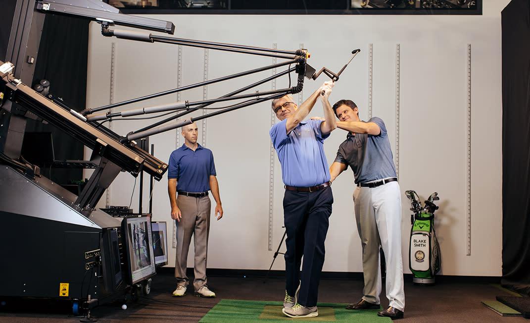 Golfer's Day in Paradise - Body