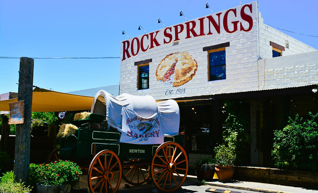 will drive for pie - rock springs - body