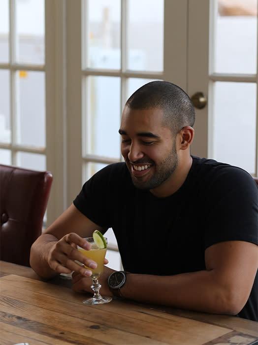 Bartender Elliot Clark