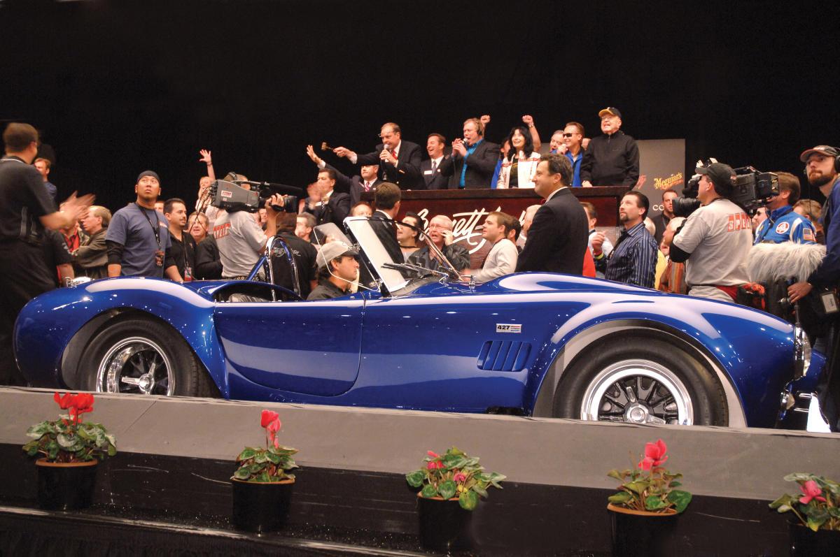 BarrettJackson Collector Car Auction - Talking stick resort car show