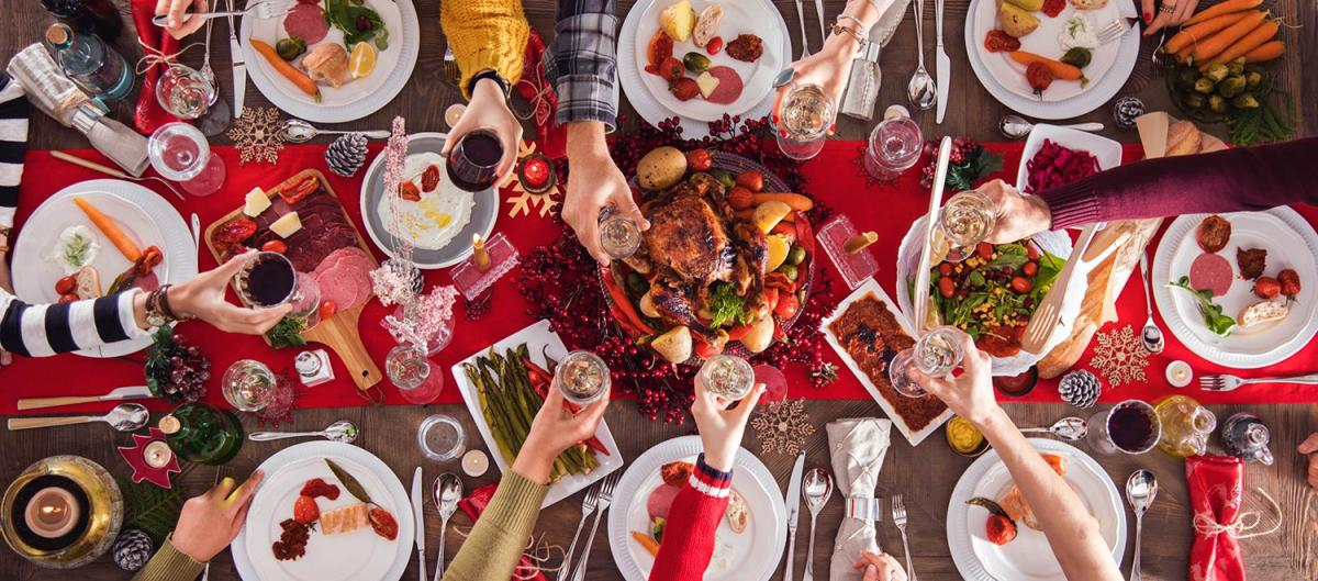 Christmas Dinners - Header