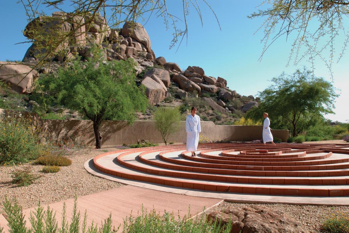 Boulders Spa Labyrinth