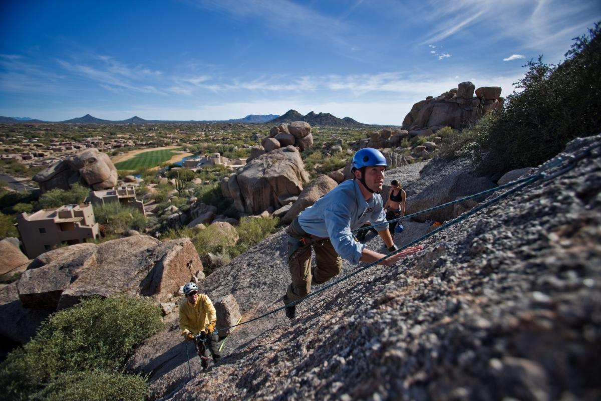 Boulders Resort & Spa Rock Climbing
