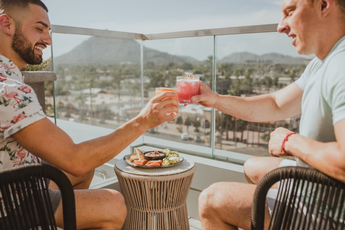 Outrider Rooftop Lounge at Canopy by Hilton Scottsdale Old Town