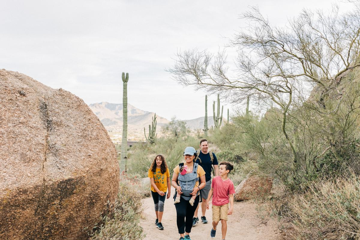 Pinnacle Peak Family Hike