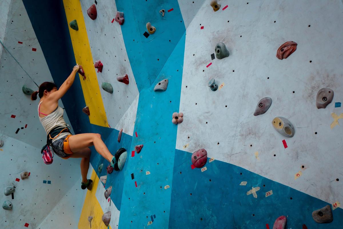 Indoor Rock Climbing_Stock