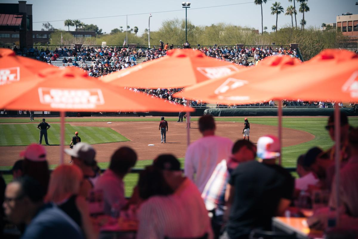 San Francisco Giants Spring Training at Scottsdale Stadium' Charro Lodge in Old Town